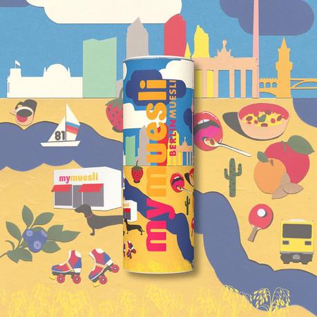 berlin #mycity design by Thomas Müller