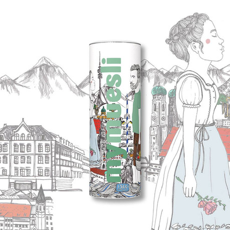 munich_ #mycity design by Lena Burger