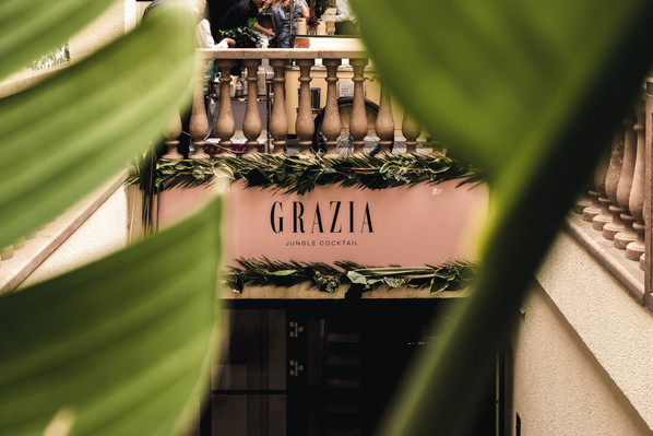 grazia - fashion week cocktail