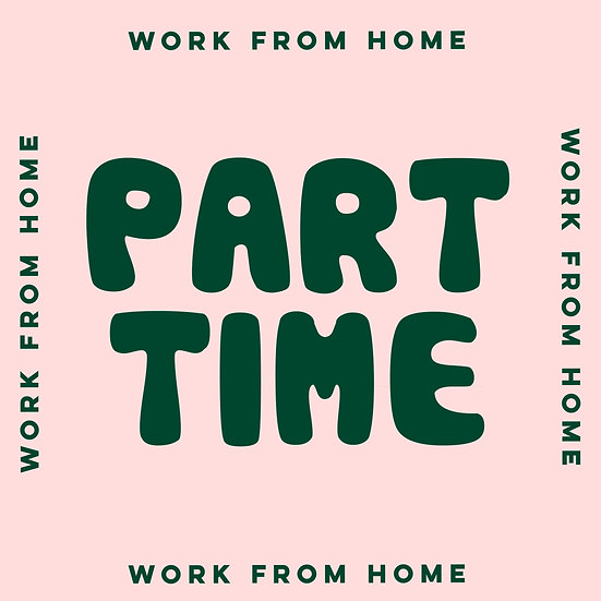 work from home | 1-month-part-time-membership