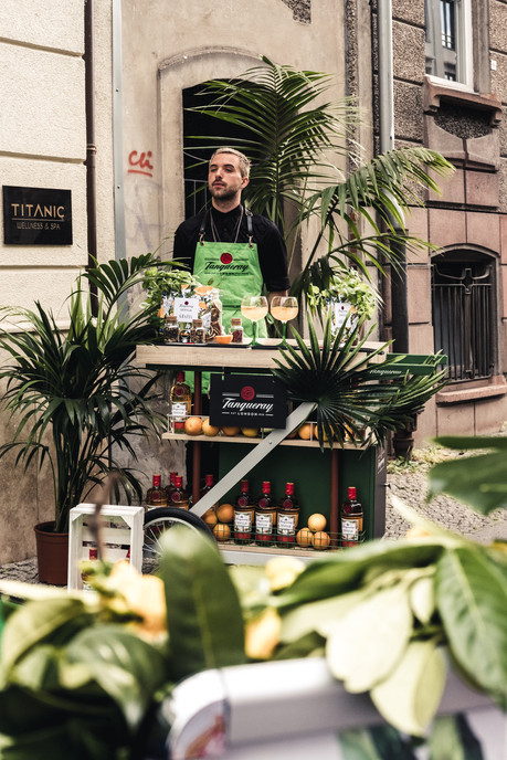 grazia - fashion week cocktail