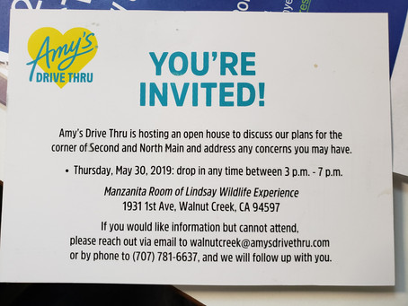 Take the Survey + Amy's Open House Discussion Thursday May 30th at Lindsay Wildlife Museum
