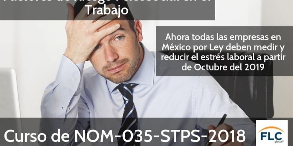 Curso: NOM-035, Factores de riesgo psicosocial en el trabajo