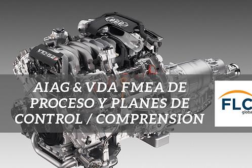 AIAG & VDA FMEA de Proceso y Planes de Control / Comprensión