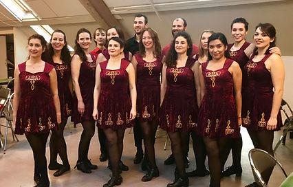 Compagnie des élèves LaCaDanses, danse irlandaise Paris