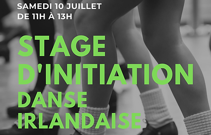 Stage d'initiation danse irlandaise LaCa