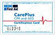 CarePlus Certification Card
