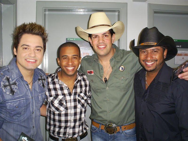João Vitor e Edson e Fernando e Sorocaba