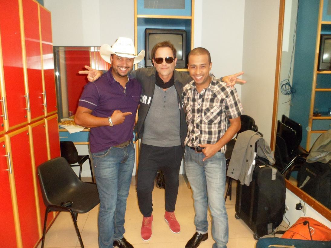 João Vitor e Edson e Sylvinho Blau Blau