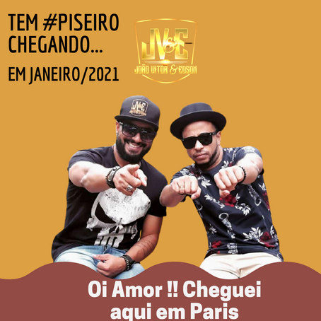 """Atendendo a pedidos dos fãs VAI TER PISEIRO... Em janeiro tem musica nova """"PARIS"""""""