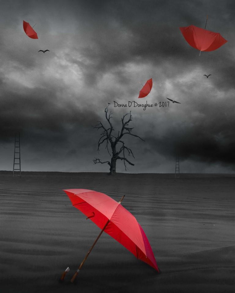 A Little Red Umbrella