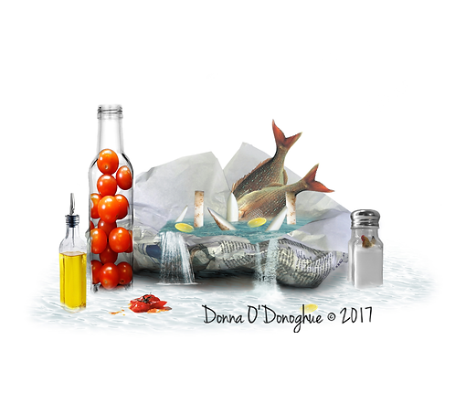 Fish and Chips - Fine Art Print