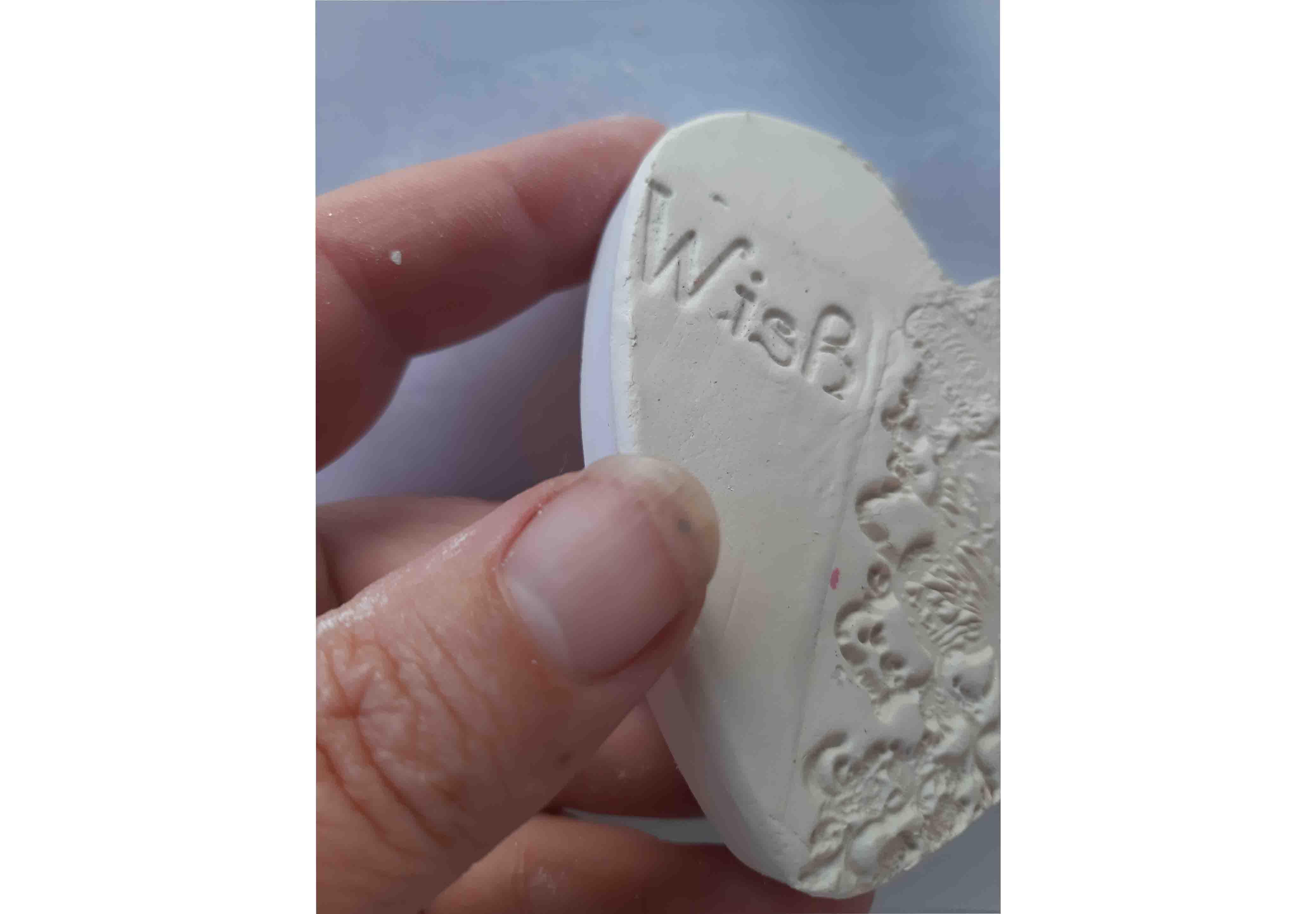 Air-Dried Clay Heart