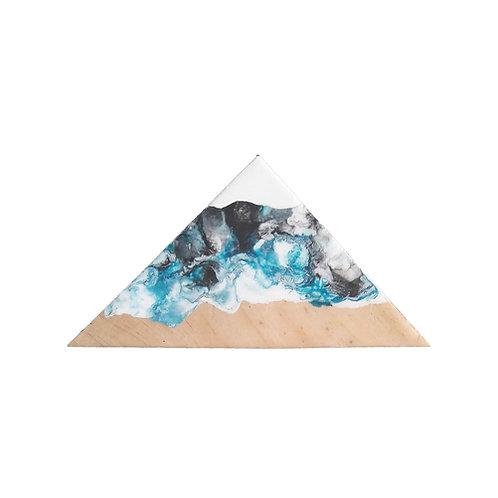 Mountain - fluid art