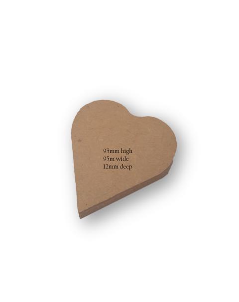 Small Heart Art & Craft Base