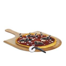 BBQ Bacon Mushroom Pizza