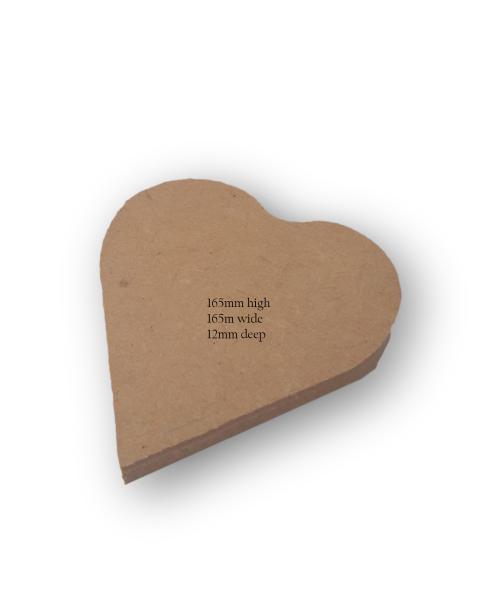 Medium Heart Art & Craft Base