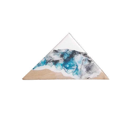 Mountain small - fluid art
