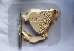 Heart and Air-Died Clay