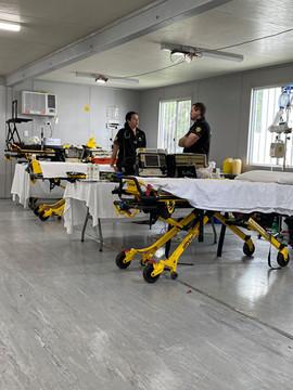 Critical Care room