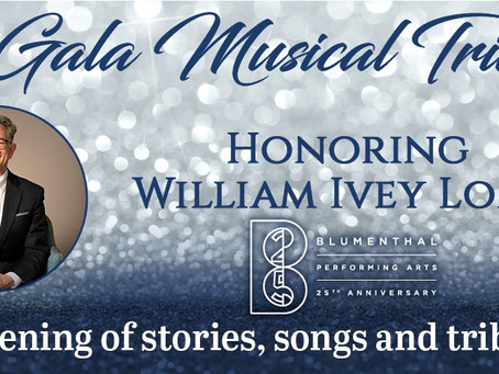Blumenthal Performing Arts Gala to Honor William Ivey Long; Christine Ebersole, Andy Karl, Laura Osn