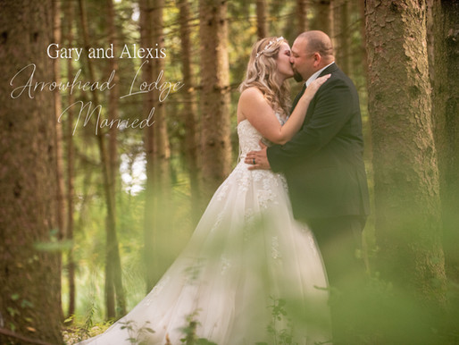 Gary and Alexis got Married at Arrowhead Lodge in Brewerton, NY