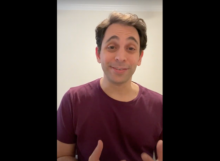 A Message From Blumey Awards Music Director David Dabbon!
