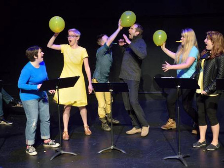 """""""Mario and the Comet that Stopped the World"""" at NYU's New Plays for Young Audiences Festival 2015"""