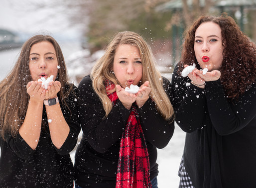 Our Yearly Winter Wonderland Mini Photo shoot at Emerson Park in Auburn, NY