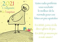 Carte de voeux 2020_2021-Spatiale