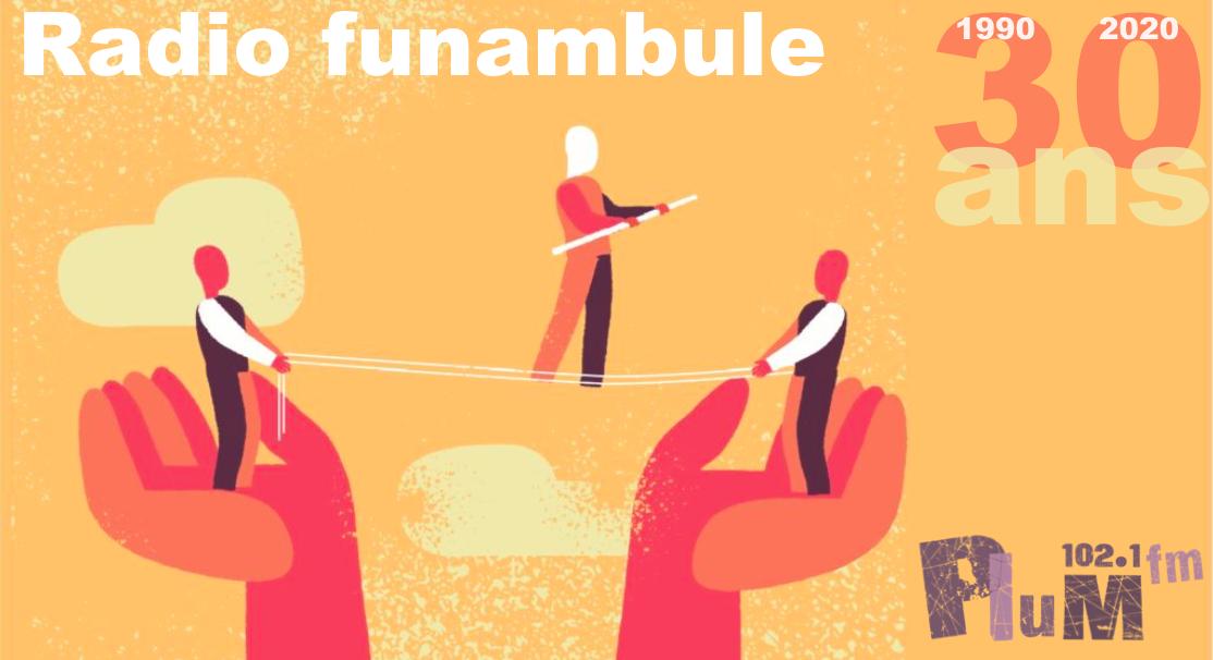 Visuel 30 ans - Radio Funambule