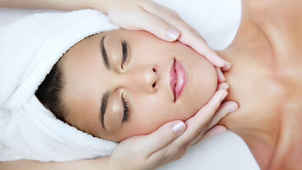 Massagem Facial Relaxante
