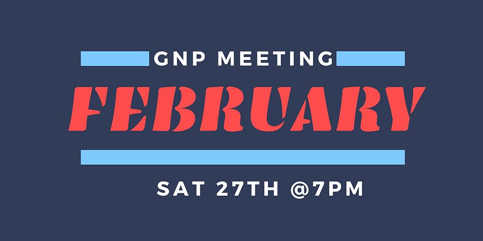 GNP February Meeting