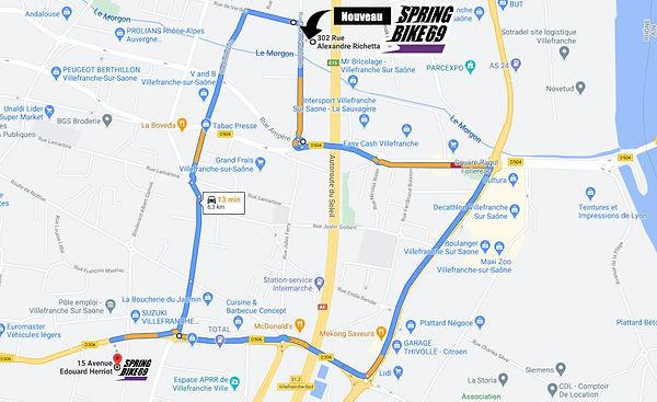 plan 302 rue alexandre richetta 69400. 3
