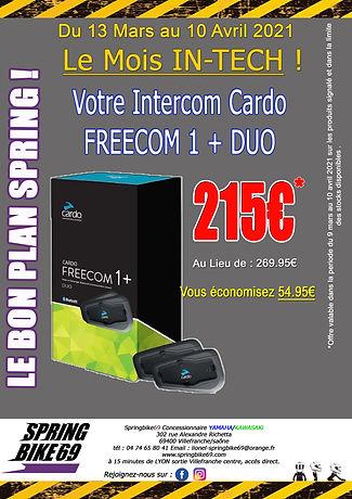 affiche spring bon plan freecom1 + duo 2
