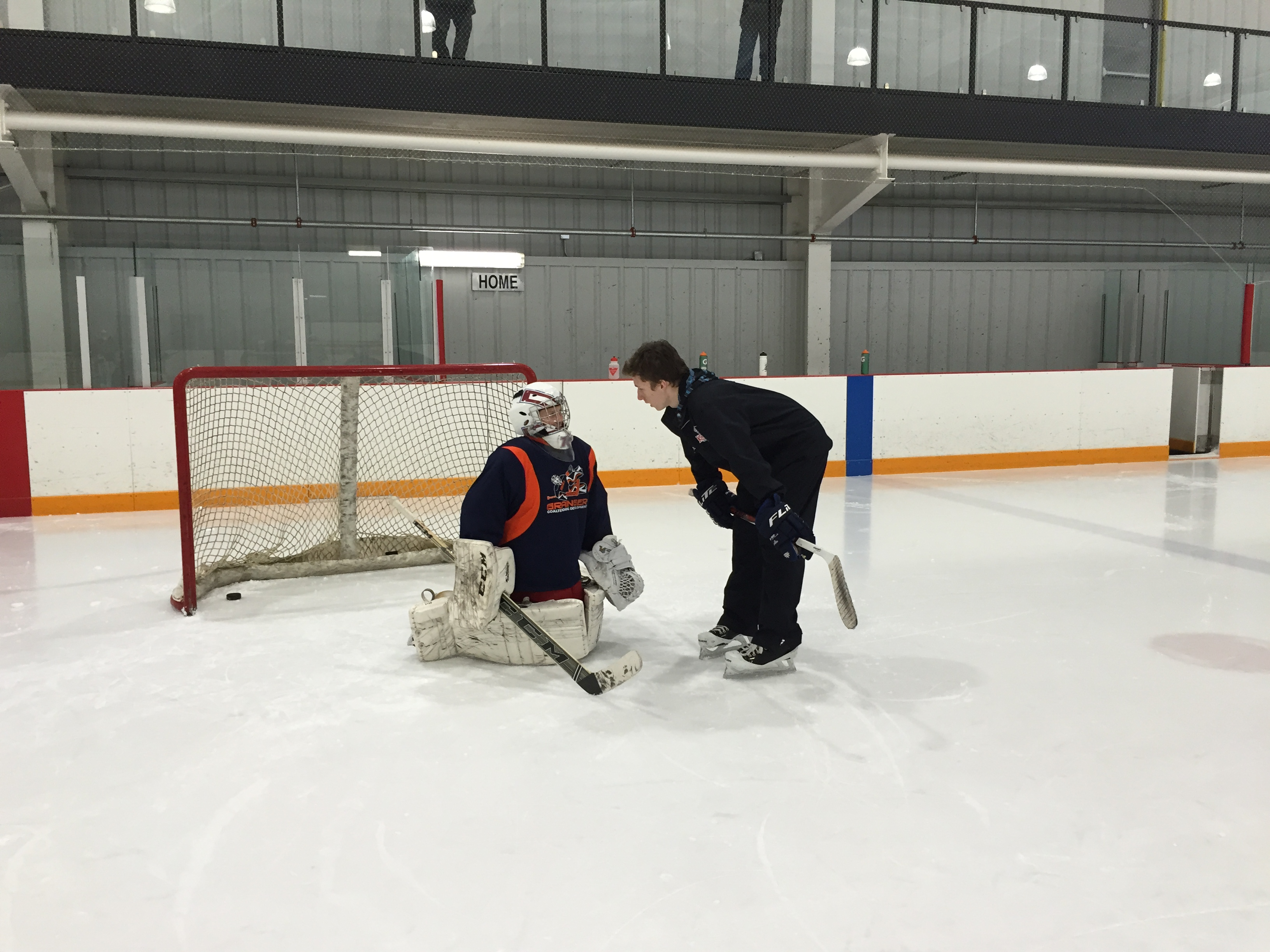 Grainger Goaltending School Grainger Hockey Training Programs