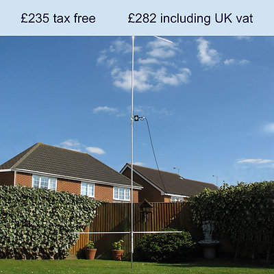 I-Pro Home HF vertical antenna