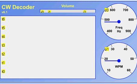Arduino CW decoder Nextion display