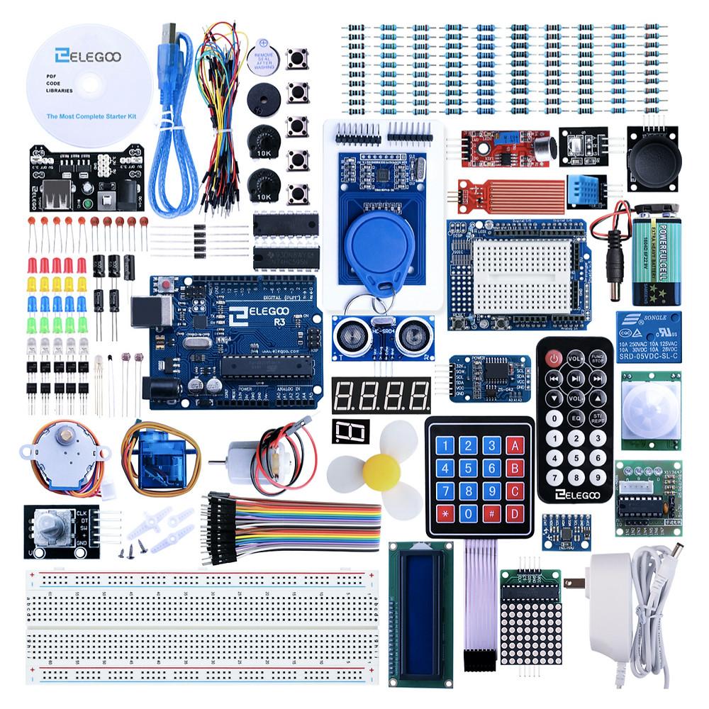 Arduino sensors components