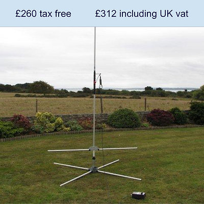 I-Pro Traveller portable HF antenna