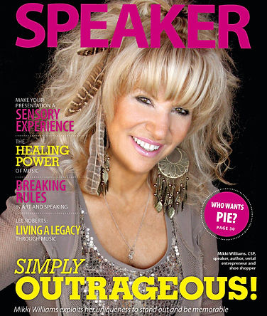 Celebrity Motivatonal Speaker Mikki Williams Press