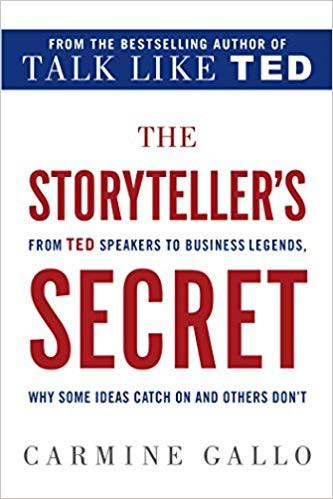 Must Read Books on Storytelling in Business_The Storyteller's Secret