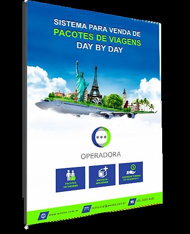 Ebook Sistema Operadora Wooba - Pacotes de Viagens Day by Day personalizados