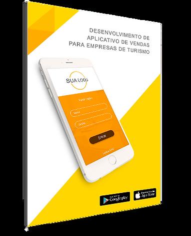 Ebook de desenvolvimento de aplicativo mobile para agências de viagens, empresas de turismo e consolidadores feito pela Wooba