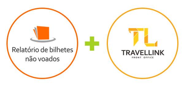 Travellink + Relatório de Bilhetes não voados