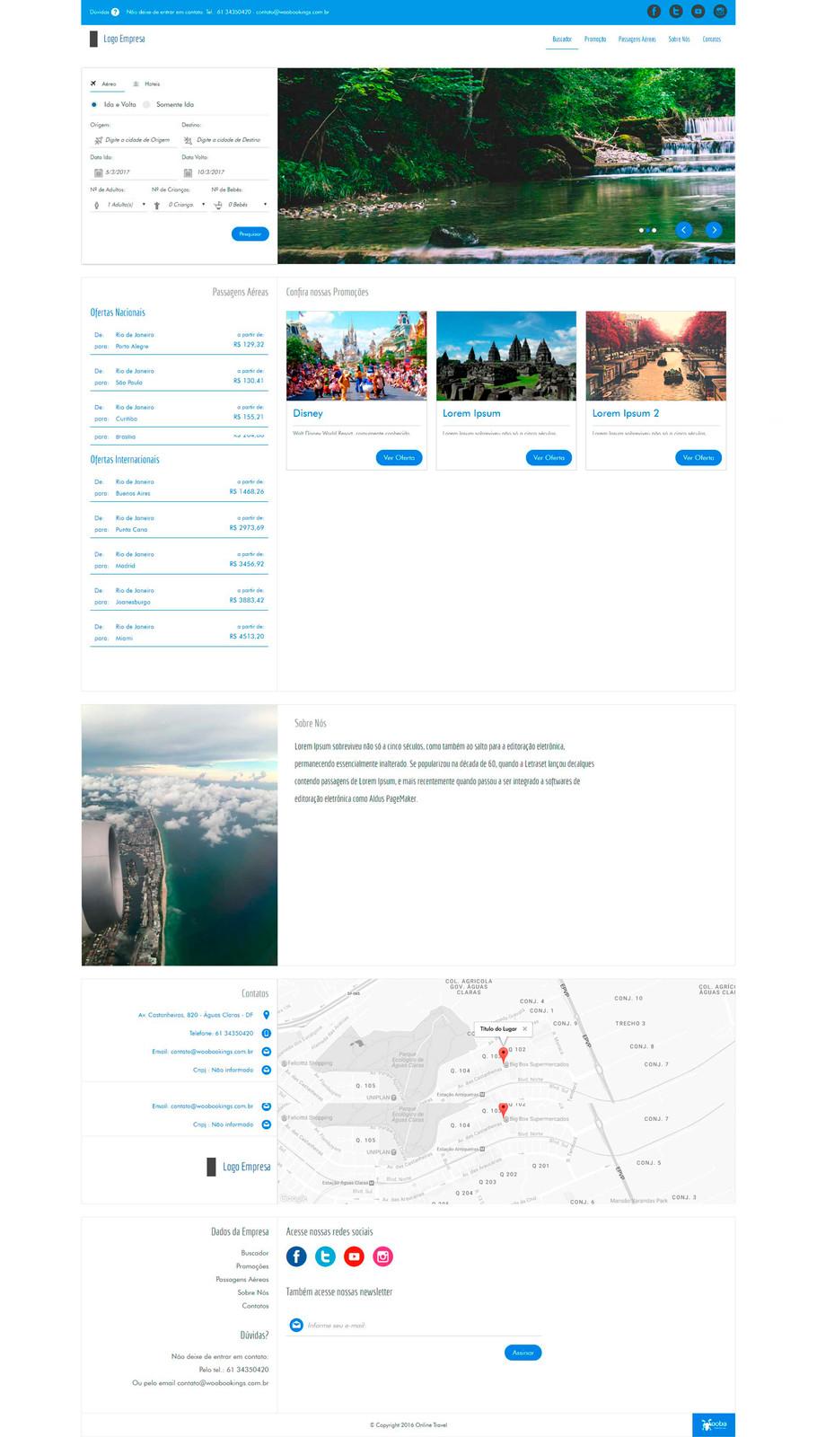 346a972a3 OTA - Agência de Viagens Online