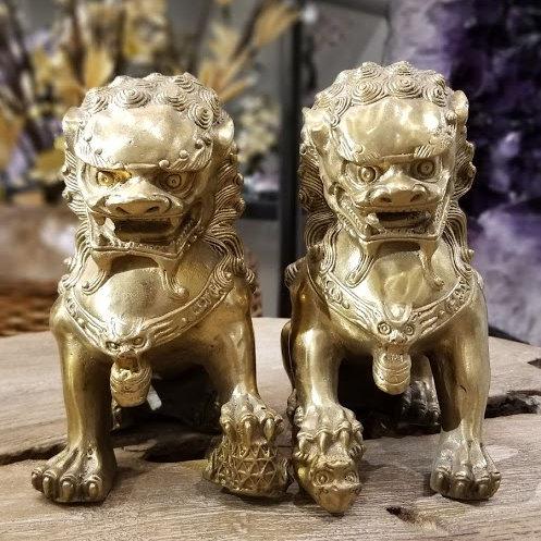 BRASS FU LIONS L