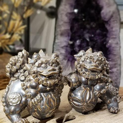 CERAMIC FU LIONS