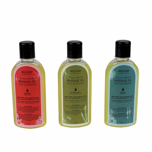MUSCLE MELT Premium Herbal Body Massage Oil