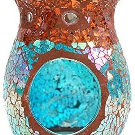Relaxus Venetian Mosaic Collection. Venetian Glass Candle Aroma Diffuser.